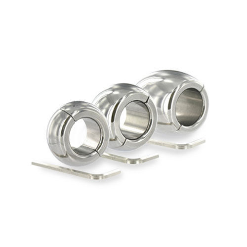 ball weights. oval ball stretcher 30, 40, 60 x 35mm, bondage, weights, testicle weights m